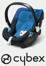 Baby Car Seat Cybex Aton 3 in Blau