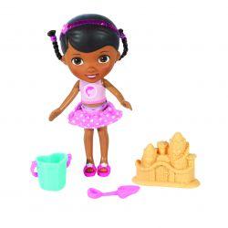 Giochi Preziosi 70930451 - Disney Doc McStuffins Spielzeugärztin Beach Time 14 cm, mit Zubehör