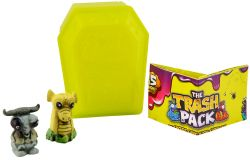 Giochi Preziosi 70684931 - 3er SET Trash Pack Gross Zombies mit je 2 Müllmonster im Sarg