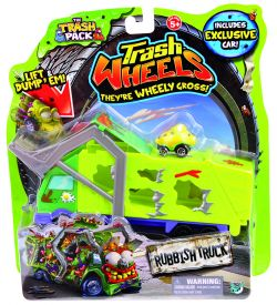 Giochi Preziosi 70684241 - Trash Pack Wheels - Mülltransporter und Müllmoster Auto