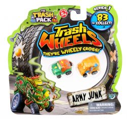 Giochi Preziosi 70681391 - 3er SET Trash Pack Wheels mit jeweils 2 Müllmonster Autos pro Pack