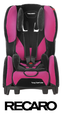 Recaro Young Expert Plus Microfibre Pink, Isofix possible