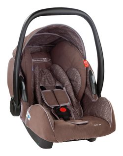 Storchenmühle Twin 0+ chocco, Isofix possible