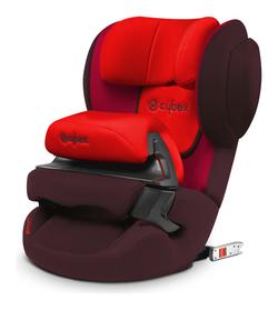 Cybex Juno-fix in Rumba Red - dark red, Isofix
