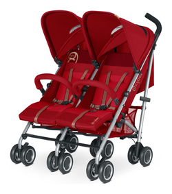 Cybex Twinyx in Hot and Spicy - red