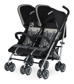 Cybex Twinyx in Oyster - light grey