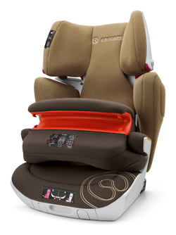 Concord Transformer XT Pro walnut brown, Isofix