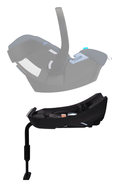 Cybex Aton Base 2, belted