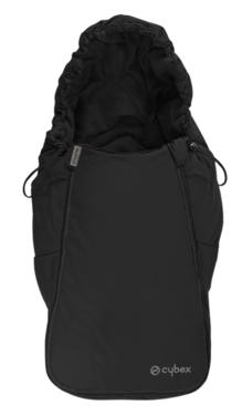 Cybex Aton Serie Fußsack Black - grey