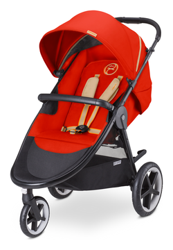 Cybex Eternis M3 in Autumn Gold - burnt red (2016)