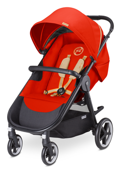 Cybex Agis M-Air 4 Autumn Gold - burnt red (2016)