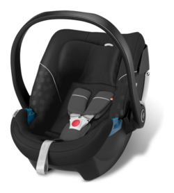Goodbaby GB Babyschale Artio Monument Black - black, Isofix möglich