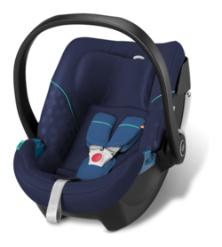 Goodbaby GB Babyschale Artio Sea Port Blue - blue, Isofix möglich