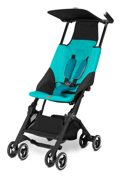 Goodbaby GB Buggy Pockit Capri Blue - turquoise