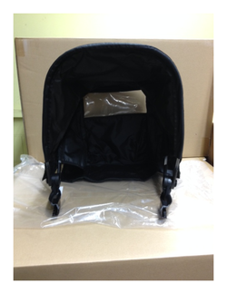 BabyZen Zen spare part canopy for BabyZen black frame