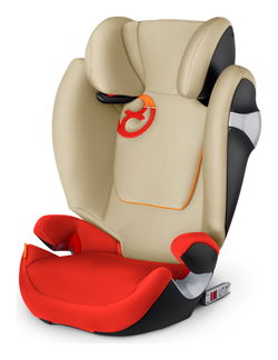 Cybex Solution M-Fix Autumn Gold - burnt red, Isofix