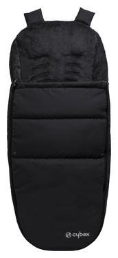 Cybex Fußsack für Kinderwagen und Stroller, Black
