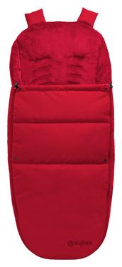 Cybex Fußsack für Kinderwagen und Stroller, Red