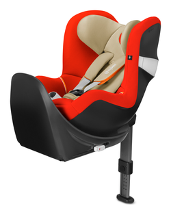 Cybex Sirona M2 i-Size inkl. Base M Autumn Gold - burnt red