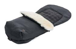 Moon footmuff for prams City style - wood