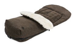 Moon footmuff for prams City brown - melange