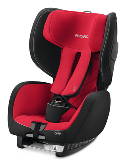 Recaro Optia Racing Red, Isofix möglich