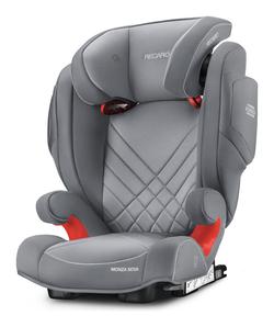 Recaro Monza Nova 2 Seatfix Aluminium Grey, Isofix