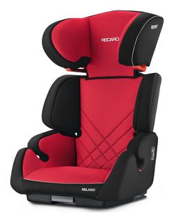 Recaro Milano Seatfix Racing Red, Isofix