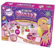 Giochi Preziosi 70104281 - Bindeez Mineez Schmuckkästchen 500 beads