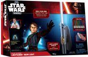 Giochi Preziosi 70150781 - Star Wars Science Lichtschwert Raumlicht 8-farbig