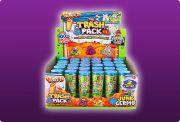Giochi Preziosi 70683831 - 3er SET Trash Pack mit jeweils 2 Müllmonster im Reagenzglas