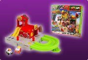 Giochi Preziosi 70684151 - Trash Pack Wheels - Feuerwache / Blazing Fire Station