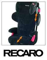 Recaro Start 2.0 adjustable positions
