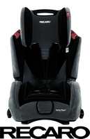 Recaro Young Sport Deluxe on Tour Special Edition, Microfibre Black Grey