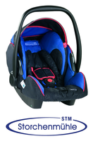 Storchenmühle Twin 0+ Chili Blue, Isofix possible