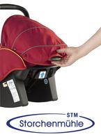 Stochenmühle Twin 0+ Griff zur Verstellung der Rückenlänge