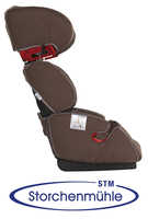 Storchenmühle My-Seat CL lowest recline position from the side