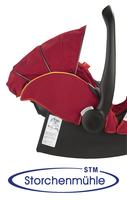Storchenmühle Twin 0+ Rückeneinstellung für Neugeborene