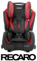 Recaro Young Sport in Cherry