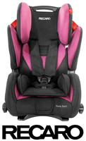 Recaro Young Sport in Pink