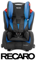 Recaro Young Sport in Saphir