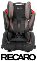 Recaro Young Sport in Mocca