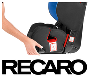 Recaro Young Sport recline postion
