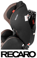 Recaro Young Expert Plus quick belting