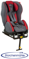 Storchenmühle Twin One on isofix base