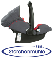 Storchenmühle Twin 0+ back adjusted for older children