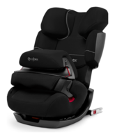 Cybex Pallas-fix in Pure Black - black, Isofix