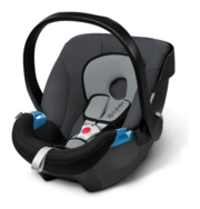 Cybex Aton in Cobblestone - grey, Isofix possible