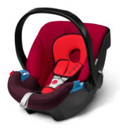 Cybex Aton in Rumba Red - dark red, Isofix möglich