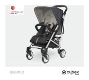 Cybex Callisto in Hot and Spicy - red